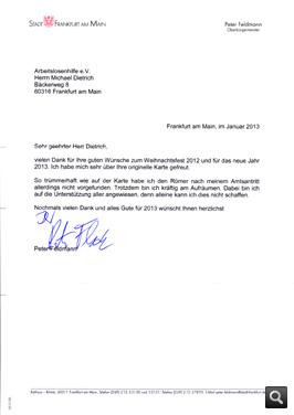 Weihnachtsgrüße Mit Danksagung.Arbeitslosenselbsthilfe E V Entrümpelungen Frankfurt